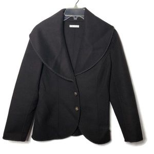 Tweeds brand brown fleece wool jacket blazer S